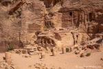 In der Farasa-Schlucht von Petra