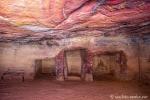 Im Inneren eines Grabes