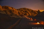 Petra bei Nacht