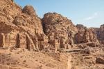 Blick auf die Königswand in Petra