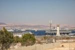 Kreuzfahrtschiffe im Hafen von Aqaba