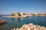 Eine Lagune in Aqaba
