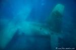 Unterwasserwelt von Aqaba - versenktes Fleugzeug