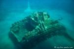 Unterwasserwelt von Aqaba - versenkter Panzer