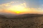 Die karge Landschaft Jordaniens