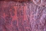 Figuren mit Händen, Wadi Rum