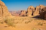 Unterwegs im Wadi Rum