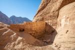 Kleiner Staudamm im Wadi Rum