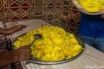 Reis ist Hauptnahrungsmittel