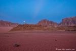 Abendstimmung im Wadi Rum
