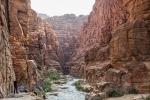 """Zugang zum """"Wadi Mujib"""""""