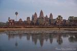 Die berühmte Tempelanlage Angkor Wat