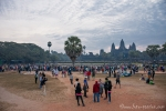 Morgens in Angkor Wat