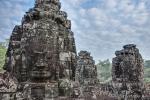 Gesichtertürme im Bayon Tempel