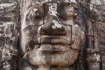 Gesicht im Bayon Tempel