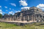 Kriegertempel und Halle der 1000 Säulen, Chichen Itza