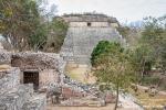 Die große Pyramide, Uxmal
