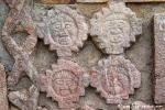Reliefs an der großen Pyramide, Uxmal