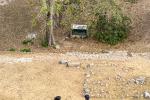 Steiler Abstieg von der großen Pyramide, Uxmal