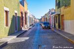In den Straßen von Campeche