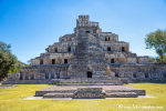 """Große Stufenpyramide """"Tempel der fünf Stockwerke"""", Edzna"""
