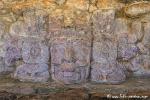 "Sonnengott der Maya ""Kinich Ahau"", Edzna"