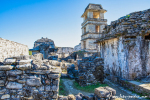 Palast mit Beobachtungsturm, Palenque