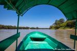 Unterwegs auf dem Rio Usumacinta, Frontera Corozal