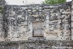 Schlangenmaul-Eingang am Hauptgebäude, El Hormiguero (Zona Arqueológica de Hormiguero)