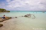 Lagune der sieben Farben in Bacalar