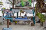 Warten auf Kreuzfahrttouristen in Mahahual