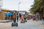 Bespaßung der Kreuzfahrttouristen in Mahahual