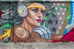 Grafittis in Bacalar