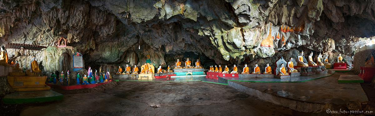Rundumblick in der Bayin Nyi Höhle