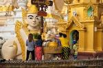 Schreine, die den acht Wochentagen zugeordnet sind - Shwedagon Pagode