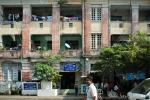 Im Erdgeschoss des Gebäudes befindet sich die Polizeistation - Yangon