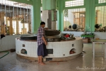 In der Küche des Kha Khat Wain Kyaung Klosters