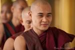 Es geht doch! - Junger Mönch im Kha Khat Wain Kyaung Kloster