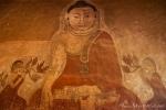 Wandgemälde im Sulamani Tempel