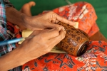 Bei Golden Cuckoo werden feinste Lackwaren hergestellt