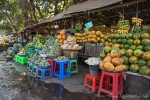 Das OBstangebot ist in Myanmar riesig