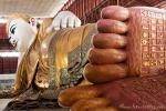 Kyaukhtatgyi Pagode mit dem 72 m langen liegenden Buddha