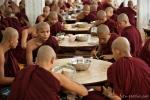 Mittagessen im Kha Khat Wain Kyaung Kloster