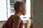 Junger Mönch im Dama Lin Khar Ra Kloster