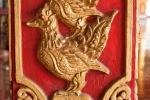 Legendäres Vogelpaar in der Hantharwaddy Pagode