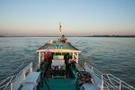 Bootsfahrt auf dem Irrawaddy Fluss