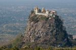 Blick auf den Mount Popa