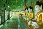 Im Inneren der U Min Thone Sae (Umin Thonze auch Htupayon) Pagode