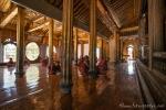 Unterricht im Shwe yan pyay Kloster