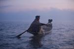 Fischer morgens auf dem Inle See